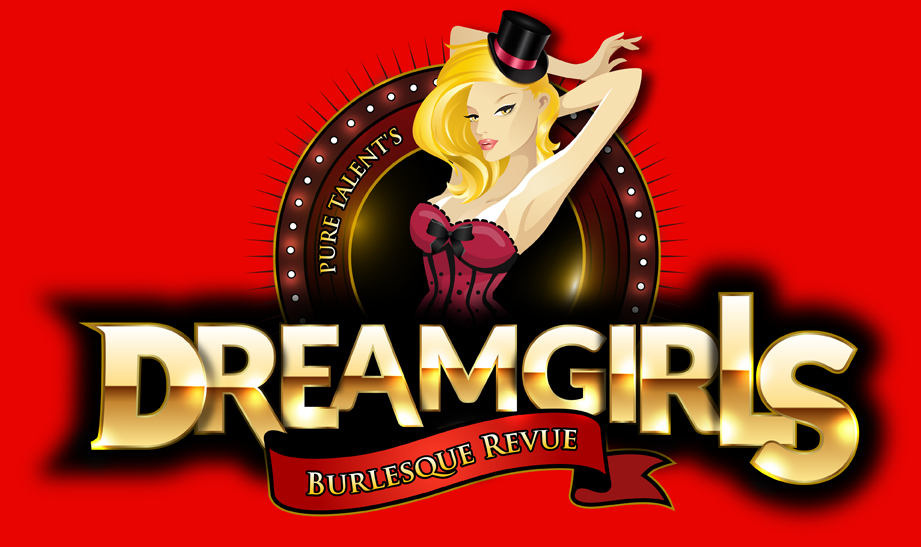Pure Talent's Dreamgirls Burlesque Revue Logos